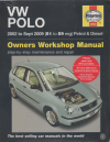 VW Volkswagen Polo Petrol Diesel 2002-2009 Haynes Service Repair Manual